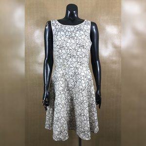 Betsey Joshnson Ivory Lace Floral Dress